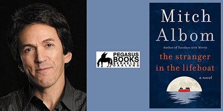 Mitch Albom discusses his new novel, The Stranger in the Lifeboat tickets