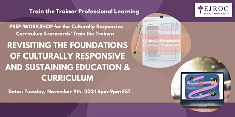 Foundations of Culturally Responsive & Sustaining Education tickets