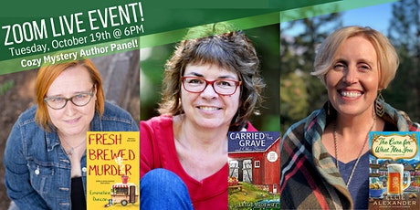 Rediscovered Books Presents a virtual Cozy Mystery Author Panel tickets