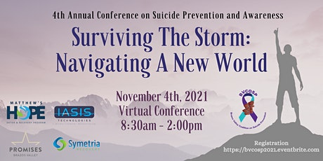 """BVCOSP Virtual Conference """"Surviving the Storm: Na tickets"""