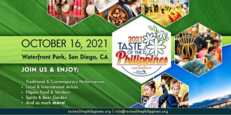 Taste of the Philippines VIP Beer and Spirits Tasting & Baon Lunch Box tickets