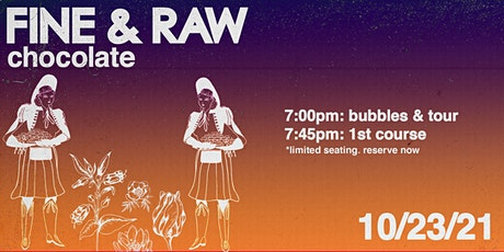 The FINE & RAW Dinner Experience tickets