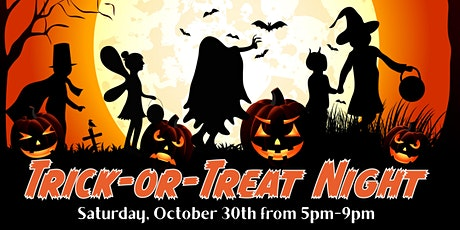 Trick or Treat Night at the Dinosaur Place (Oct.30) tickets
