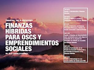 Fast-Workshop: Finanzas Hibridas. Objetivos sociales y ambientales en OSC entradas