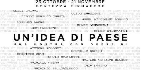UN'IDEA DI PAESE | TAVOLA ROTONDA - TALK biglietti