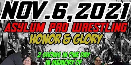 Honor & Glory tickets