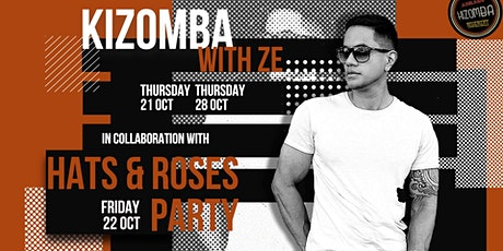 Kizomba Workshops with Zé and Hats and Roses Party tickets