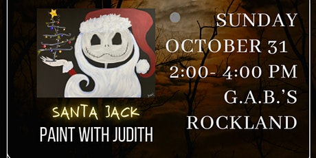 Paint Night in Rockland - Santa Jack at G.A.B.'s tickets