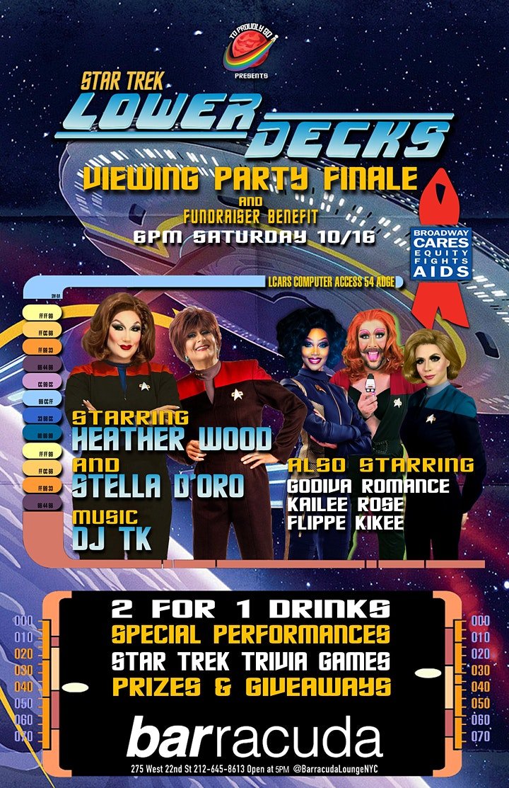 Star Trek: Lower Decks Viewing Party image