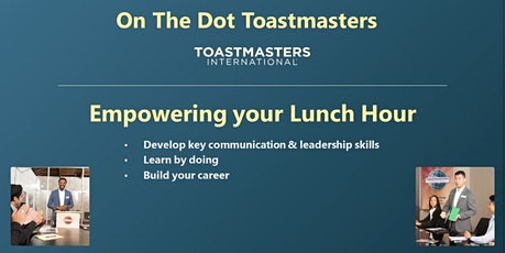 The Dot Toastmasters  Virtual Meeting - 10/21/21 tickets