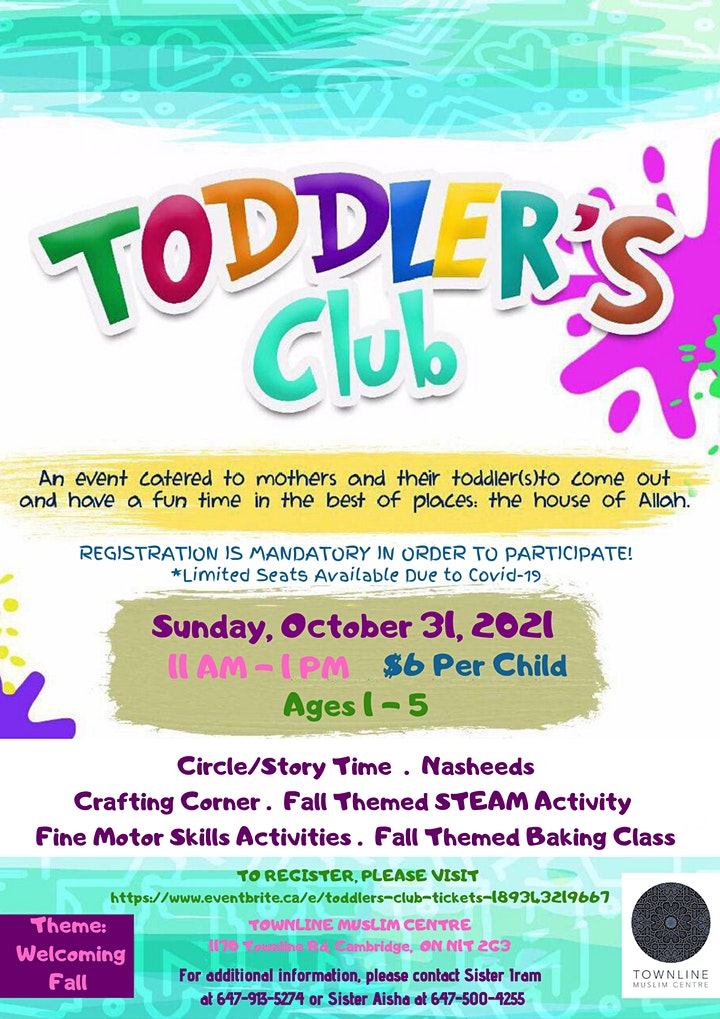 Toddlers Club image