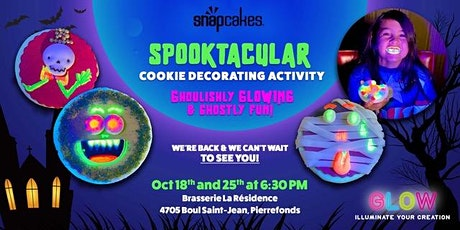 Halloween Cookie Decorating billets