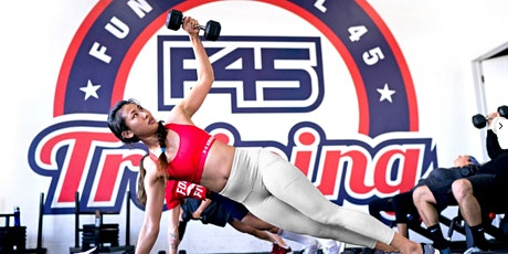 F45 Cupertino - FREE Community indoor trial workout tickets