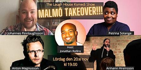 The Laugh House Ståupp Komedi 20:e november tickets