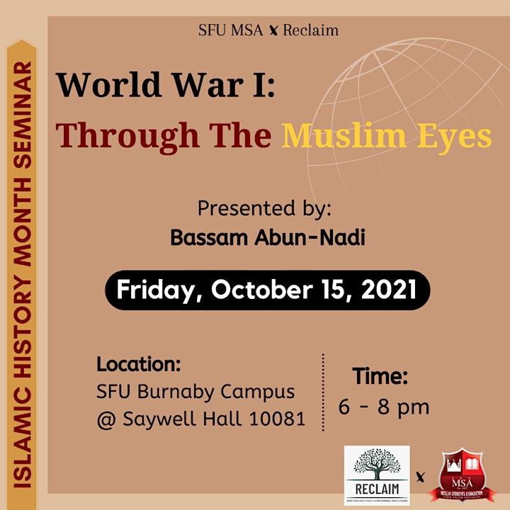 World War I: Through the Muslim Eyes image