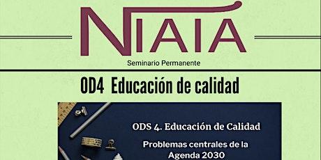 Seminario NIAIÁ: ODS4 Educación de Calidad entradas