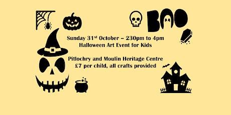 Halloween Kids Arts & Crafts tickets
