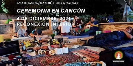 Ceremonia en Cancún con Ayahuasca/Kambó/Bufo/Cacao entradas