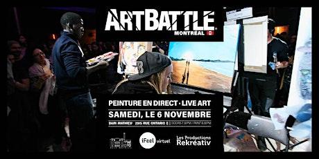 Art Battle Montréal -  6 Novembre, 2021 tickets
