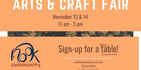 Nook Fall Arts & Craft Fair tickets