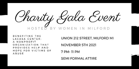 Women In Milford Charity Gala Event tickets