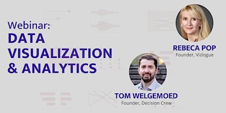 Free Webinar: Data Visualization & Analytics tickets