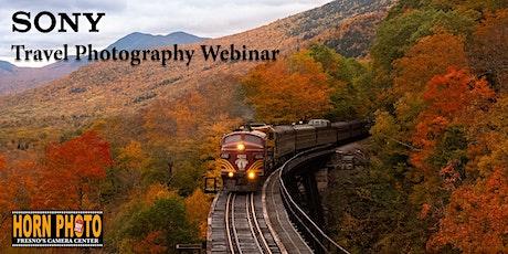 Travel Photography Webinar tickets