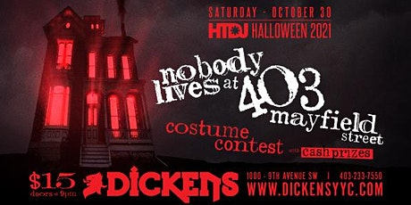 """Hang The DJ pres. Halloween 2021 """"Nobody Lives At 403 Mayfield Street"""" tickets"""
