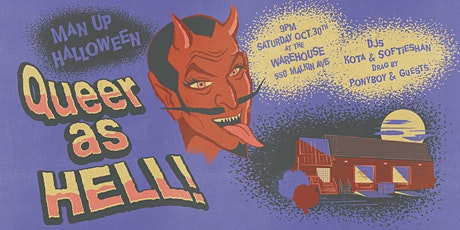 Man Up Halloween: Queer as HELL! tickets