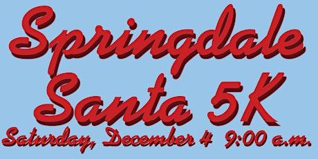 Springdale Santa 5k/1 Mile tickets