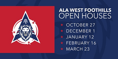 ALA West Foothills Open House tickets