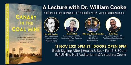 A Lecture with Dr. Cooke & A Panel of People with Lived Experience tickets