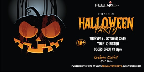 Feel Alive Entertainment Presents: The 4th Annual Halloween Party tickets