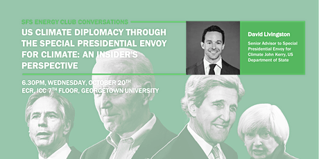 US Climate Diplomacy: An Insider's Perspective tickets