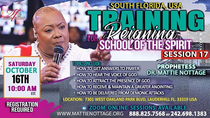 REGISTER NOW..FOR THE HIGHLY ANTICIPATED TRAINING FOR REIGNING SESSION 17!! image