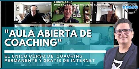 AULA ABIERTA DE COACHING (estudiar coaching gratis online) entradas