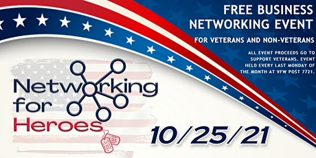 Networking for Heroes tickets