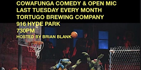 Cowafunga Comedy Show and Mic tickets