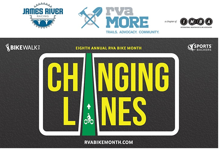 Community MTB Ride with rvaMORE & James River Racing #rvabikemonth image