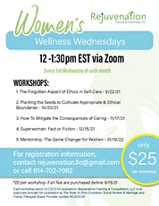 Planting the Seeds to Cultivate Appropriate & Ethical Boundaries tickets