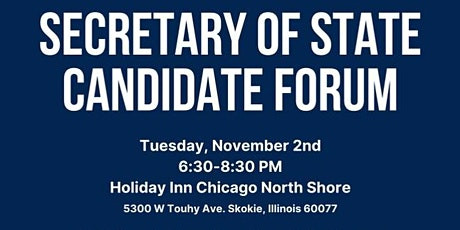 Secretary of State Candidate Forum tickets