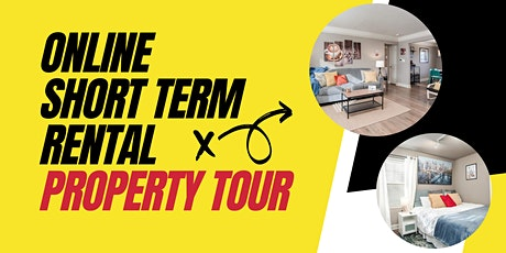 Online Short Term Rental Property Tour, Learning about AIRBNB, VRBO tickets