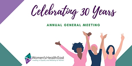 Women's Health East 2021 Annual General Meeting tickets