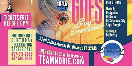 Anything Goes Day Party in Orlando #TEAMNORIE tickets