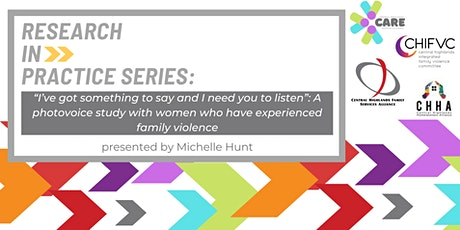 Research In Practice Series: Michelle Hunt tickets