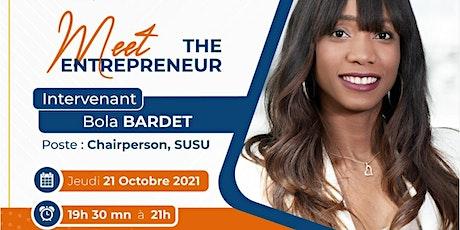 Meet the Entrepreneure : Bola BARDET billets