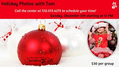 Holiday Photos with Tom tickets