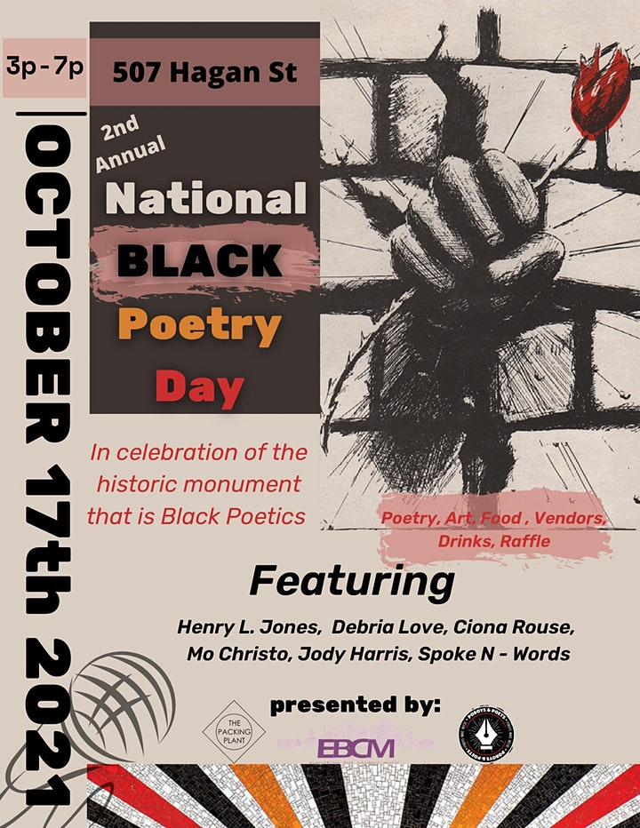 NATIONAL BLACK POETRY DAY: Second Annual image