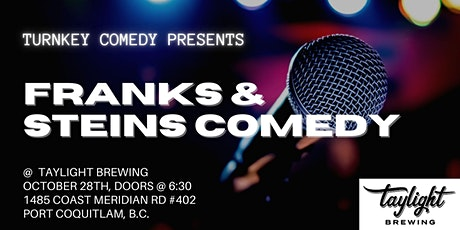 Franks and Steins Comedy tickets