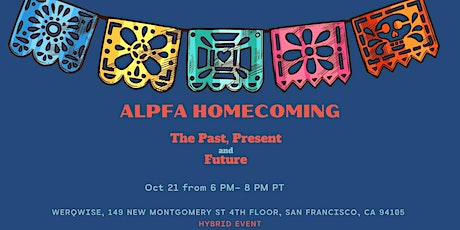 """ALPFA Homecoming """"The Past, Present, and Future"""" tickets"""